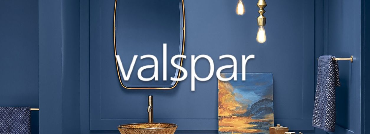 More about Valspar paint at Dressels