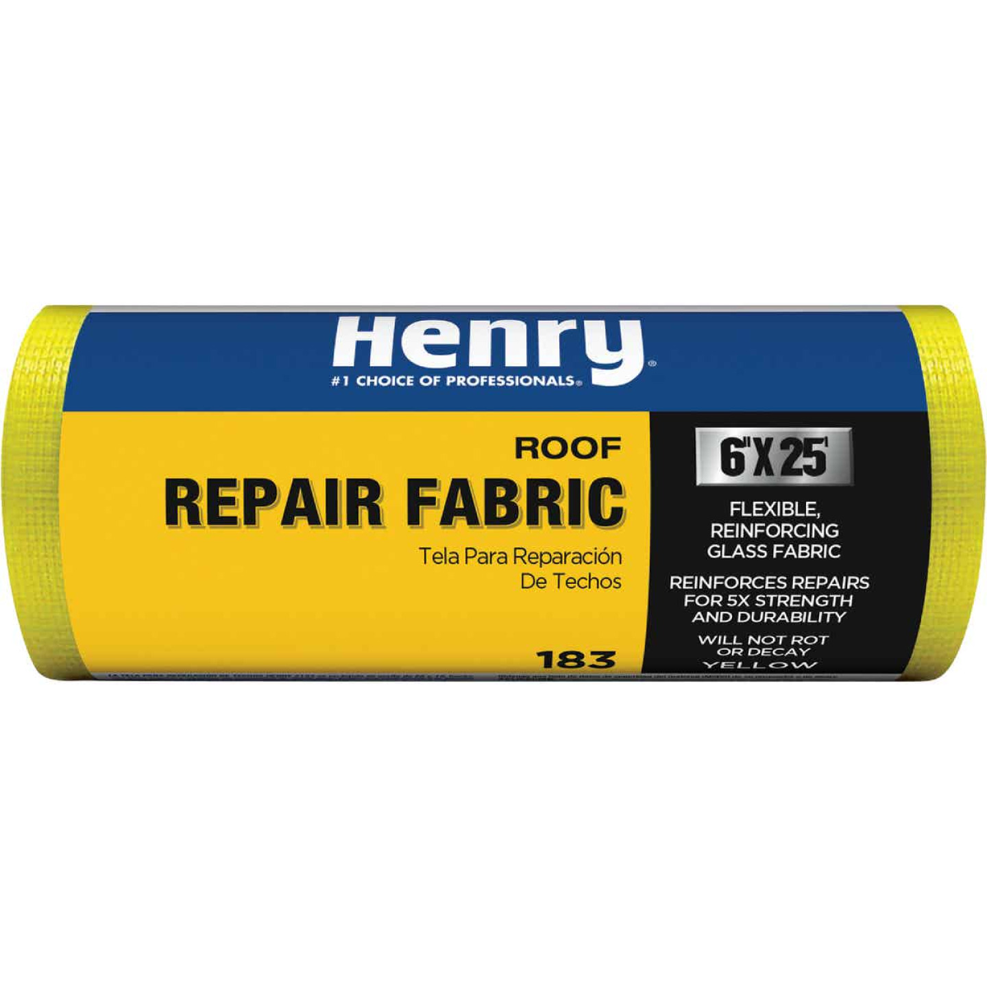 Henry 6 In. x 25 Ft. Yellow Glass Reinforcing Fabric Image 1
