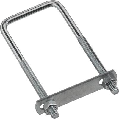 National 5/16 In. x 2 In. x 5 In. Zinc Square U Bolt