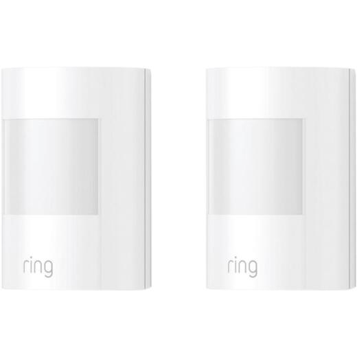 Ring Wireless Indoor White Alarm Motion Detector (2-Pack)