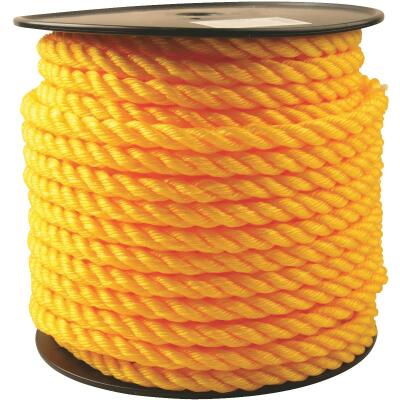 Do it 5/8 In. x 150 Ft. Yellow Twisted Polypropylene Rope