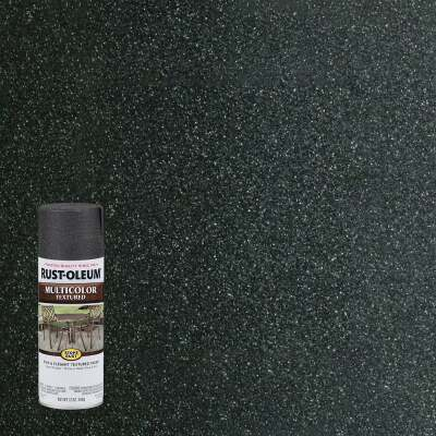 Rust-Oleum Stops Rust MultiColor 12 Oz. Textured Spray Paint, Aged Iron
